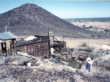 Abandoned Mine Near Quartzsite