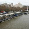 A Bateaux London Restaurant Boat At The Pier