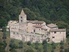 The Abbey Of San Cassiano