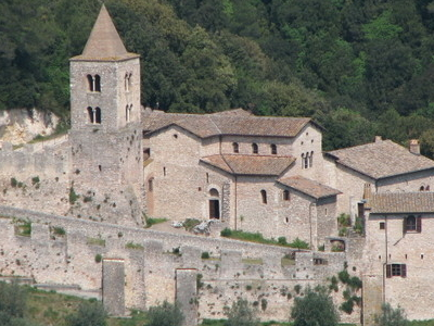 The Abbey Of San Cassiano