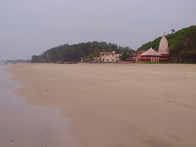 A Beach At Ganapati Pule
