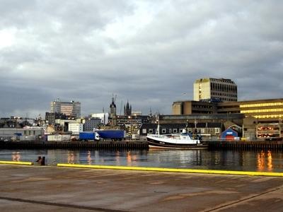 Aberdeen City From Docks