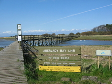 Aberlady Bay Footbridge