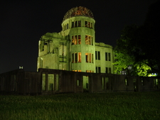 A Bomb Dome At Night