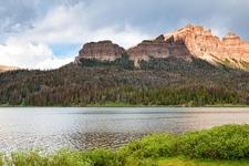 Absaroka Mountains & Brooks Lake