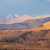 Absaroka Mountains In Montana