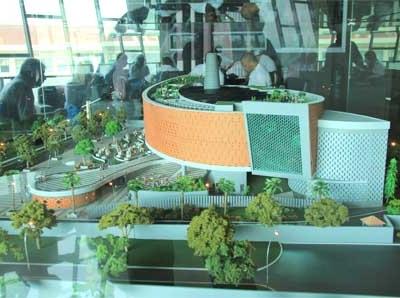 Aceh Tsunami Museum - View