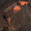 A Cinder Cone And Surrounding Flows On Mauna Loa