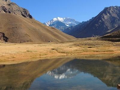 Aconcagua Parque Provincial Landscape - Argentina