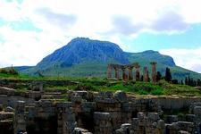 Acrocorinth From Corinth