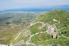 Acrocorinth Overview @ Corinth