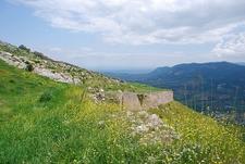 Acrocorinth Vista With Flora