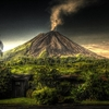 Active Arenal Volcano