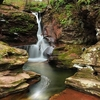Adams Falls Over Kitchen Creek - Ricketts Glen State Park PA