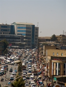 The Bustling Centre Of Addis Ababa