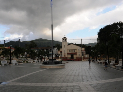 Central Square In Adjuntas