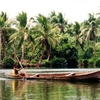 A Dugout Canoe Of Pirogue Type In The Pacific