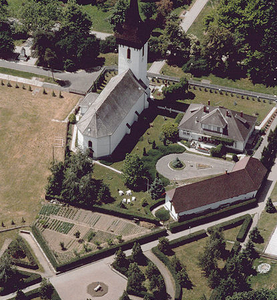 Aerial Photo: Fehérgyarmat - Temple