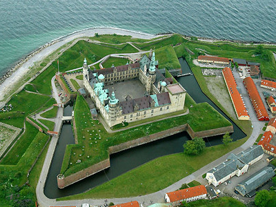 Aerial Photo Of Kronborg Castle