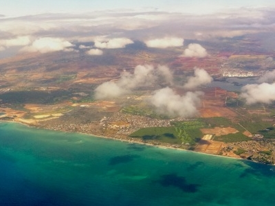 Aerial Photo Of The Ewa Beach Area Of Oahu