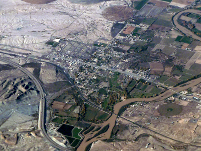 Aerial Photograph Of Green River.