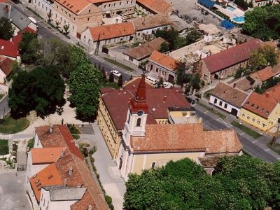 Aerial Photography Of Tapolca