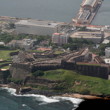 View Of Castillo De San Cristobal