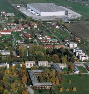 Aerial View Of Herceghalom