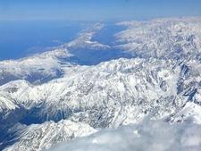 Aerial View Of The Caucusus Range