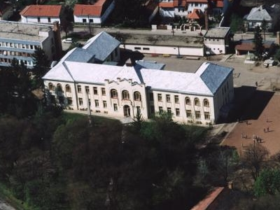 Aerial View Of Tiszafüred Town, Hungary