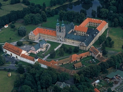 Aerial View-Tepla Monastery
