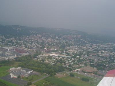 Aerial View Of Bloomsburg