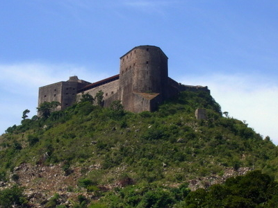 Aerial View Of The Citadelle Laferrire In Northern Haiti