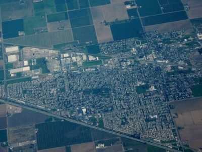 Aerial View Of  Dixon California