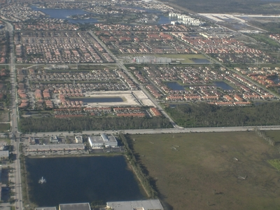 Aerial View Of Western Doral