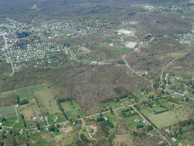 Aerial View Of  Kane