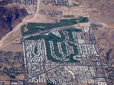 Aerial View Of Palm Springs