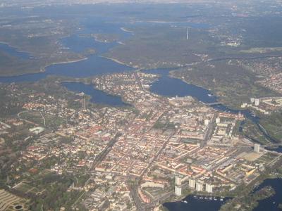 Aerial View Of Potsdam