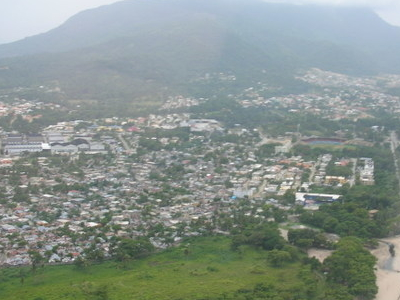 Aerial View Of Puerto Plata