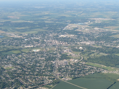Aerial View Of Troy