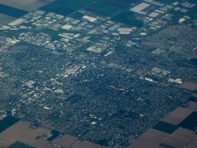 Aerial View Of  Woodland  2 C  California