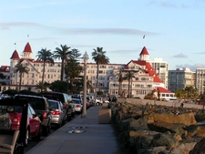 A Full View Of The Hotel Coronado