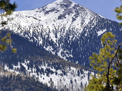 Agassiz Peak In Winter