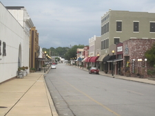 A Glimpse Of The Downtown Historic District Of Winnsboro