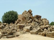 Agrigent Ruine Zeustempel
