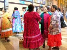 A Group Of Kanak Women