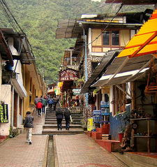 Aguas Calientes Street View