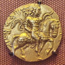 A Gupta Coin Depicting Candragupta II