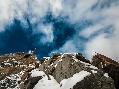 Aiguille Du Midi In French Alps