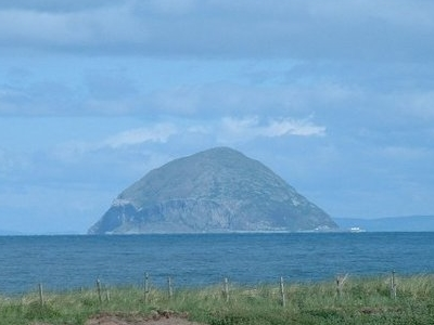Ailsa Craig Over The Sea